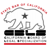 State Bar of California: California Board of Legal Specialization seal